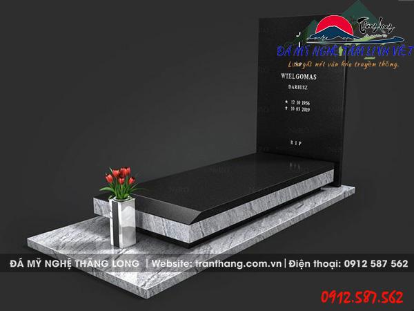 mộ đá hoa cương