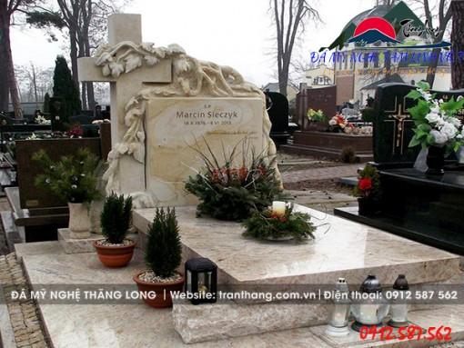 Mộ Đá Hoa Cương | Đá Granite Nhập Khẩu Nguyên Khối