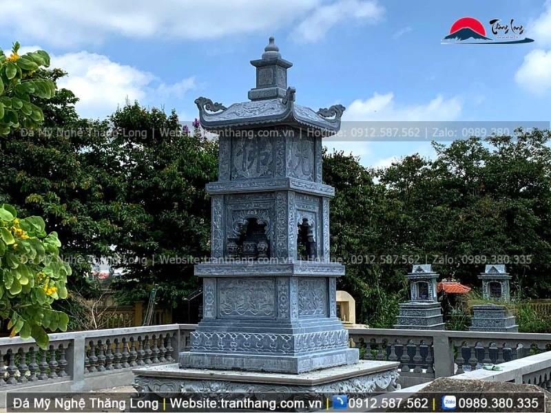 Mẫu Mộ tháp đá Phật giáo đẹp