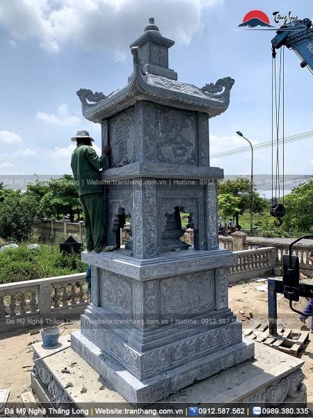 mộ tháp đá cho nhà phật