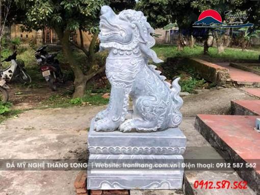 Hình ảnh con nghê đá thuần Việt