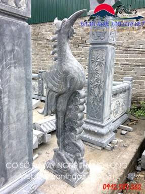 tượng hạc đá | linh vật thờ cúng dân gian
