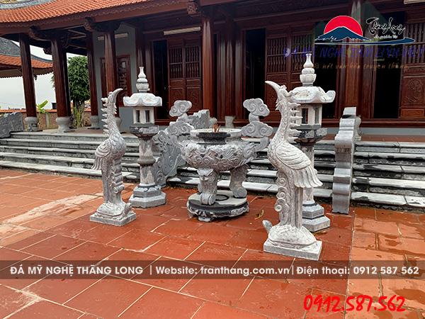 Tượng Hạc Đá đẹp | Linh vật đá thờ cúng văn hóa tâm linh Việt Nam.