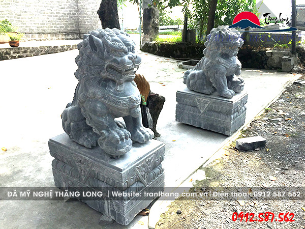 nghê đá thuần Việt