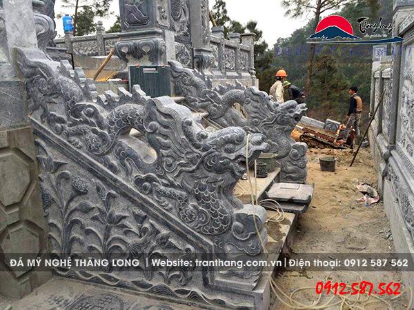 tượng rồng đá | mẫu linh vật đá phong thủy uy nghi